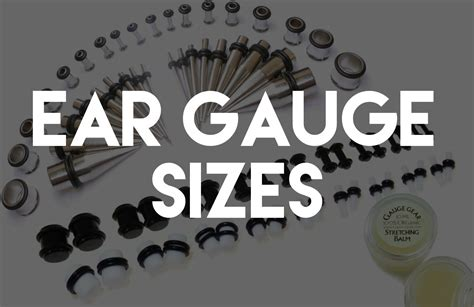 Get The Info On How Ear Gauge Sizes Work Body Gauges