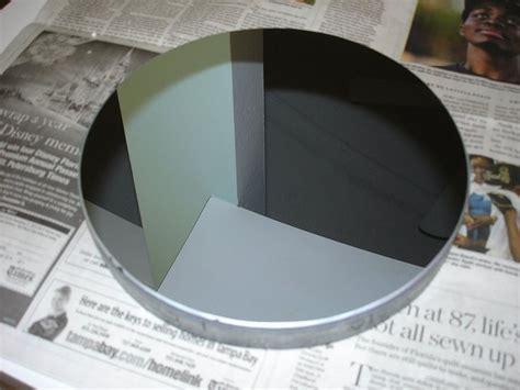mirror completed  aluminized telescope