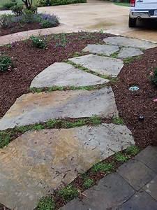 Flagstone walkway | Flagstone pathway | Pinterest