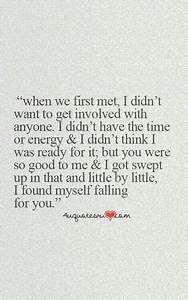 When we first met   Boyfriend quotes, Teenager quotes ...