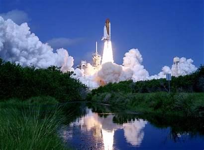 Nasa Space Desktop Launch Night Program Shuttle