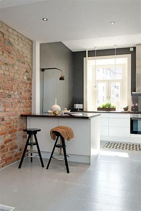 amenagement cuisine petit espace idée aménagement cuisine 50 intérieurs modernes