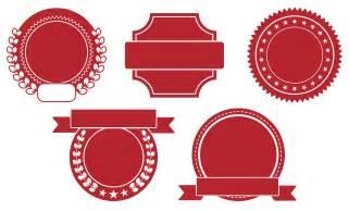 Blank Stamp Logo Vector