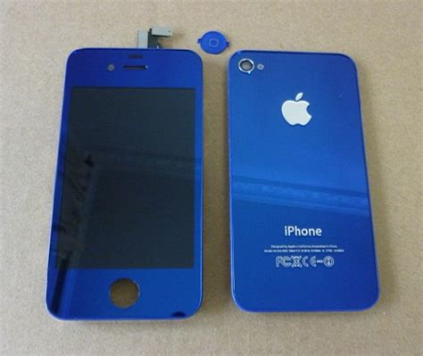 iphone forget the white iphone 4 here is the blue iphone 4