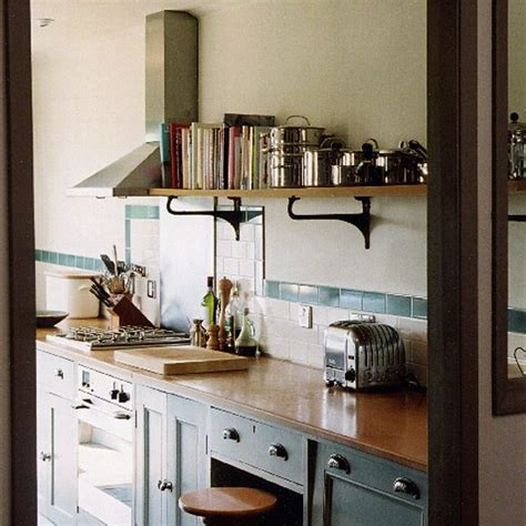 Decorating Ideas For Galley Kitchen by Cottage Galley Kitchen Kitchen Design Decorating Ideas