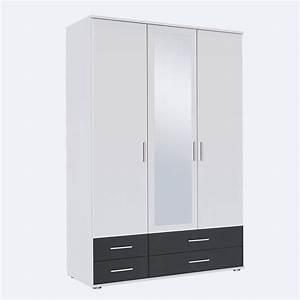 Kleiderschrank Extra Hoch : kleiderschrank rasant extra schrank mit spiegel wei grau metallic b 127 cm ebay ~ Sanjose-hotels-ca.com Haus und Dekorationen