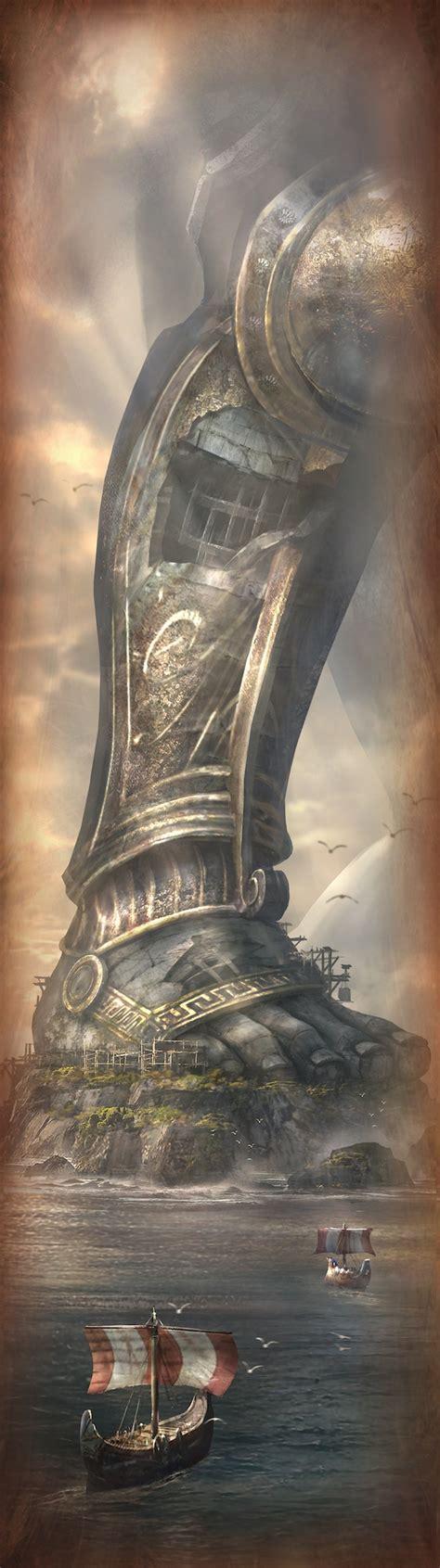 God Of War Ascension Concept Art Gallery God Of War