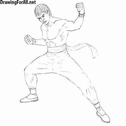 Law Draw Marshall Tekken Drawing Tutorials Drawingforall