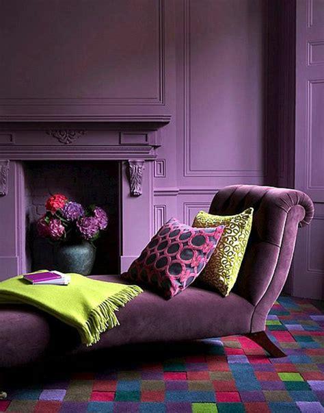 couleur prune pour une chambre couleur de chambre violet simple simple chambre noir