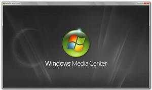 Black & White Theme for Windows 7 Media Center