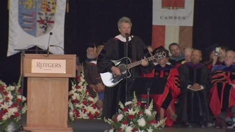 Watch Jon Bon Jovi Performs New Song For Rutgers Camden