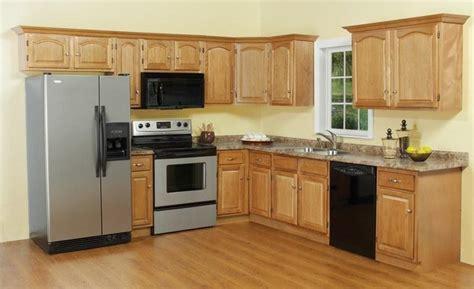 cheap oak kitchen cabinets oak kitchen cabinets photos 5341