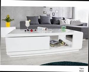 Table Basse Blanche Pas Cher : table ronde en bois pas cher 8 table basse bois salon table basse blanche myley bois 154069 ~ Teatrodelosmanantiales.com Idées de Décoration
