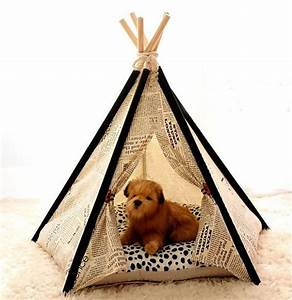 adorable pet teepee indian tent home design garden With dog and teepee
