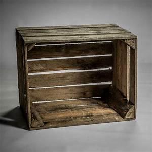 Caisse En Bois : caisse en bois vintage ~ Nature-et-papiers.com Idées de Décoration
