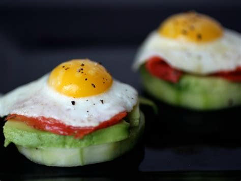 how to canapes quail egg canapés with smoked salmon avocado and pickled