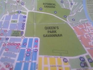 map - Picture of Queen's Park Savannah, Port of Spain ...