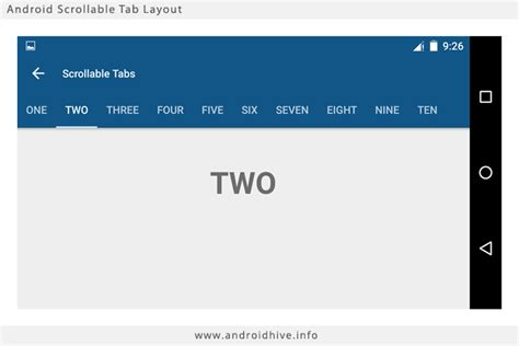 how to tabs on android phone android material design working with tabs
