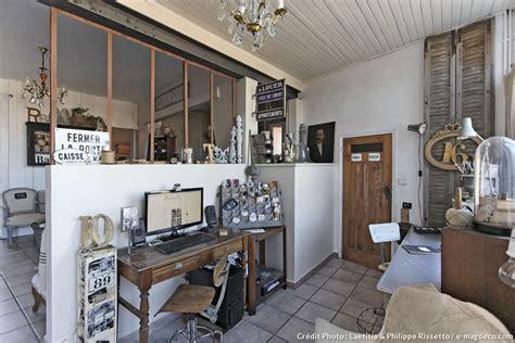 chambre deco industrielle une maison à l 39 esprit brocante maison créative