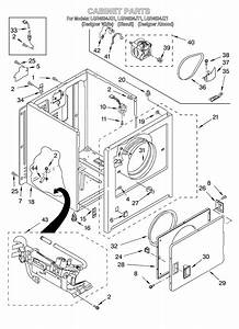 35 Whirlpool Dryer Diagram Of Parts