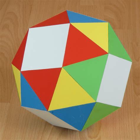 paper snub cube