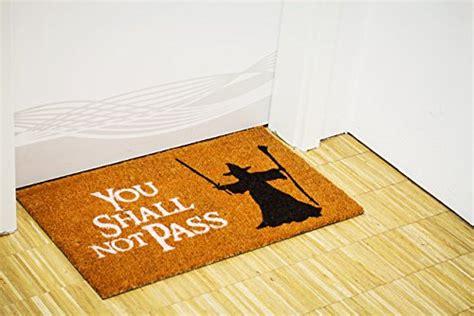 you shall not pass doormat doormat you shall not pass gadget