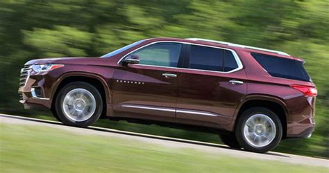 2019 Chevy Traverse Specs Gas Mileage Towing Capacity