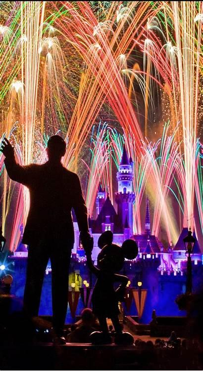 Disney Wallpapers Iphone Phone Fireworks Enjoy True