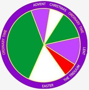 episcopal liturgical colors calendar  calendar
