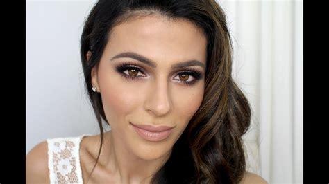 bridal makeup tutorial makeup tutorial teni panosian youtube