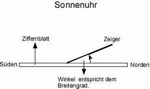 Kompass Selber Bauen : sonnenuhr bauanleitung sonnenuhren selber bauen bauplan ~ Lizthompson.info Haus und Dekorationen