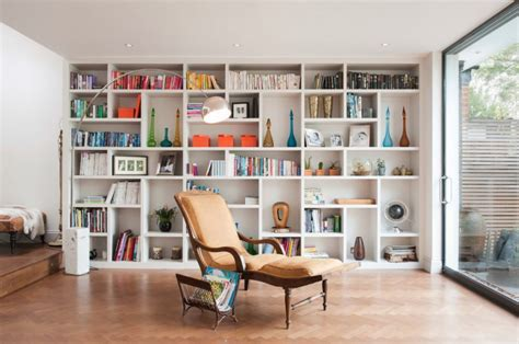 how to build a bookcase wall unit 20 library interior designs ideas design trends