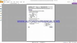 Toyota 2016 Tacoma Electronic Circuit Inspection Procedure