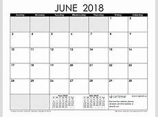 june 2018 calendar Google Search Wedding 2018