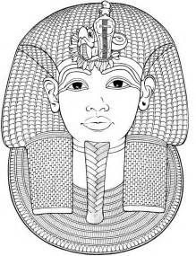 HD wallpapers egyptian mask coloring pages