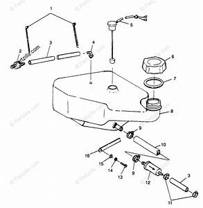 Polaris Watercraft 1997 Oem Parts Diagram For Oil Tank Slt
