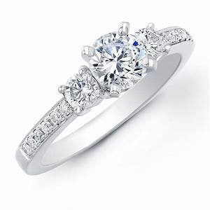 ring settings engagement ring settings 3 stone With engagement wedding rings