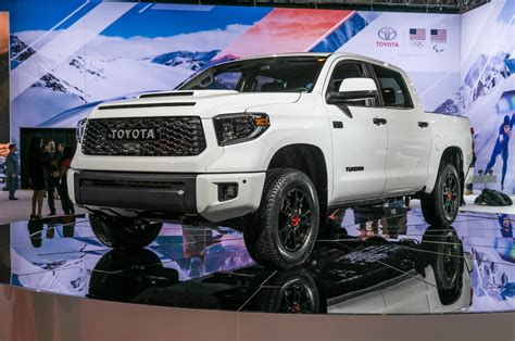 2019 Toyota Trd Pro Offroad Lineup Brings The Tundra Back
