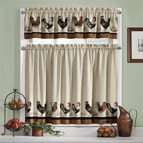 sears rooster kitchen curtains target cafe curtains white curtain menzilperde net
