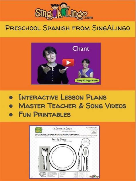 preschool from singalingo songs for 138 | 822918394971e4f88077f54cc1a5a831 preschool spanish spanish classroom