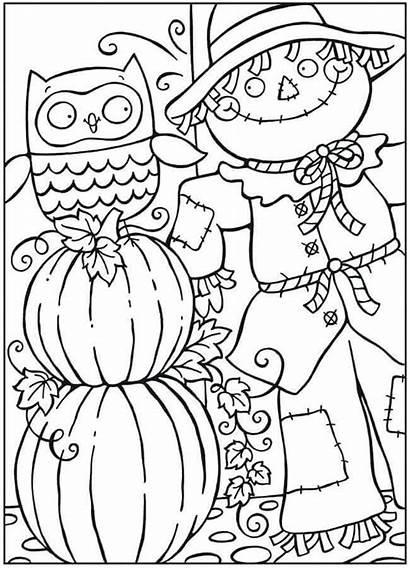 Pumpkin Coloring Printable Pages Scribblefun