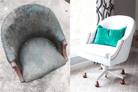 teindre un fauteuil en cuir comment peindre un fauteuil en simili cuir
