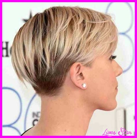 front and back views of haircuts pixie haircut back view livesstar 4861