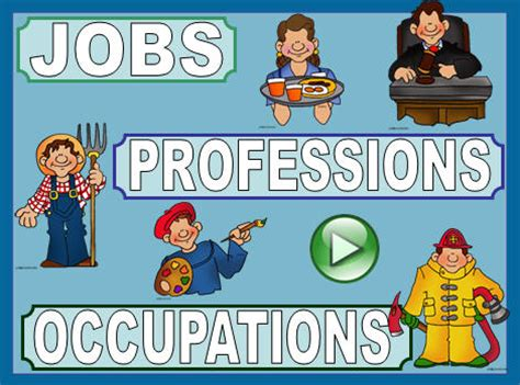 jobs professions  occupations