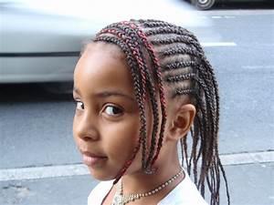 Coiffure Enfant Tresse : tresses africaine femme cheveux court ~ Melissatoandfro.com Idées de Décoration