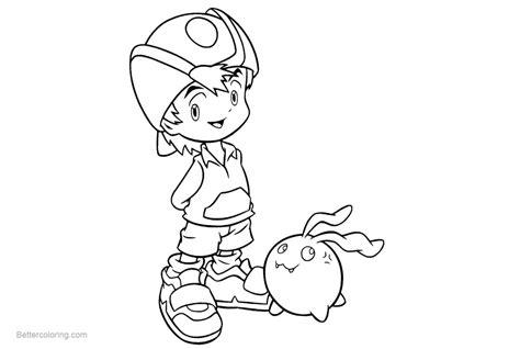 Digimon Coloring Pages Digimony Detskie Raskraski