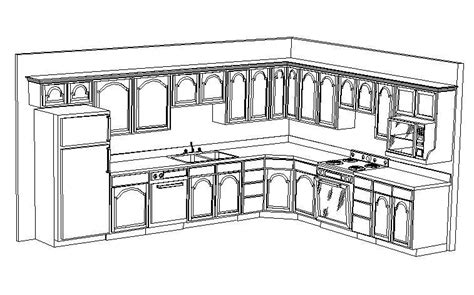 kitchen cabinet design template địa chỉ học autocad 3d ở tp hcm 5240