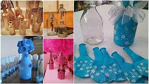 12 Things You Can Make from Glass Bottles - YouTube