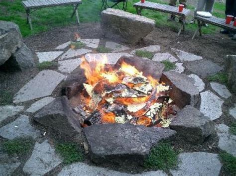 rustic pits rustic fire pit the outdoors pinterest
