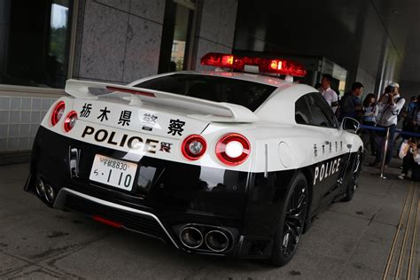 Japan Just Put An R35 Nissan Gtr Police Car Into Service